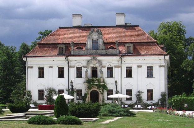 pałac krasków